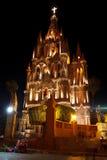 圣米格尔德阿连德教会 免版税图库摄影