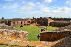 圣米格尔火山堡垒 免版税库存图片