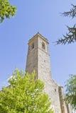 圣米格尔火山,罗马式转折, 13世纪教会  库存图片