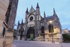 圣米歇尔教会,红葡萄酒 免版税库存照片