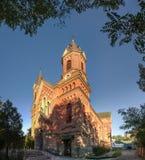 圣约瑟夫天主教会在尼高拉夫,乌克兰 库存照片