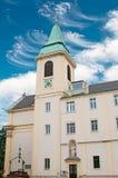 圣约瑟夫教会在Kahlenberg在维也纳 免版税库存图片
