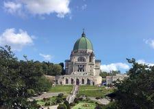 圣约瑟夫讲说术,蒙特利尔,魁北克,加拿大 免版税库存照片