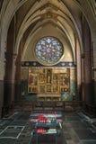 圣约瑟夫重组-我们的夫人大教堂-安特卫普-比利时 库存照片