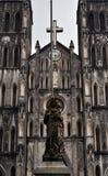 圣约瑟夫,河内大教堂  库存图片