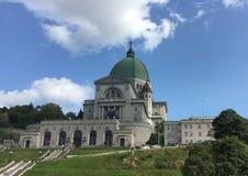圣约瑟夫` s讲说术,蒙特利尔,魁北克,加拿大 库存照片