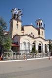 圣约翰Τhe教会俄国人(贴水卡苏利季斯O Rossos) i 免版税库存照片