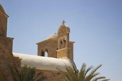 圣约翰修道院的钟楼先行者 库存照片