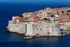 圣约翰堡垒在杜布罗夫尼克,克罗地亚, 免版税库存照片