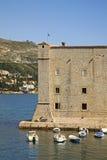圣约翰堡垒在杜布罗夫尼克 克罗地亚 免版税库存照片