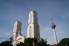 圣约翰大教堂吉隆坡 免版税库存照片
