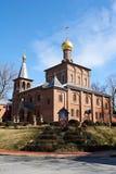 圣约翰大教堂教会浸礼会教友 库存图片