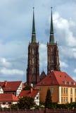 圣约翰大教堂浸礼会教友-弗罗茨瓦夫-波兰 免版税图库摄影