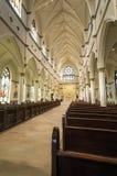 圣约翰大教堂浸礼会教友,查尔斯顿, SC 免版税库存照片