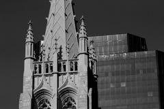 圣约翰大教堂福音传教士克利夫兰,俄亥俄 免版税库存照片