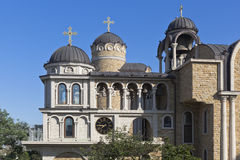 圣约翰孤儿院的大厦的片段浸礼会教友在索契 库存照片