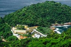 圣约翰岛堡垒  库存照片
