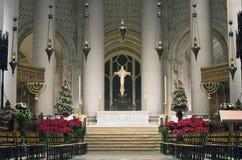 圣约翰岛大教堂神 库存图片