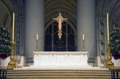 圣约翰岛大教堂神 库存照片