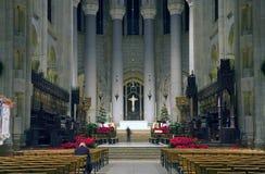 圣约翰岛大教堂神 免版税库存照片