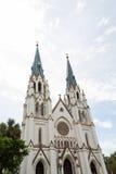 圣约翰岛浸礼会教友 库存图片