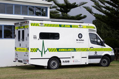 圣约翰救护车 免版税库存图片