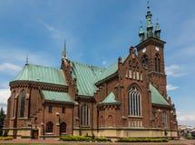 圣约翰教会在Sokolow Malopolski 免版税库存照片