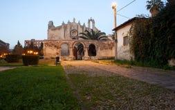 圣约翰教会地下墓穴,西勒鸠斯 图库摄影
