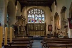 圣约翰教会浸礼会教友圣母堂A 免版税库存照片