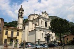 圣约翰教会浸礼会教友在普雷多雷,意大利 免版税库存照片