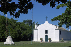 圣约翰教会浸礼会教友,在Trancoso,巴伊亚 库存图片