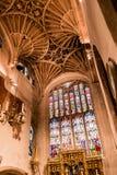 圣约翰教会浸礼会教友St凯瑟琳教堂穹顶天花板 免版税库存图片