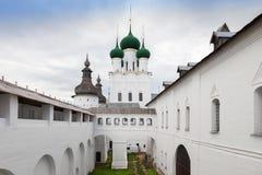圣约翰教会神学家,罗斯托夫克里姆林宫,俄罗斯 图库摄影