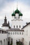 圣约翰教会神学家,罗斯托夫克里姆林宫 库存照片