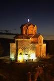 圣约翰教会金郎的在奥赫里德 马其顿 免版税库存照片