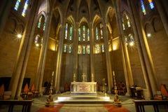 圣约翰斯大教堂布里斯班澳大利亚 免版税库存照片