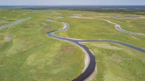 圣约翰斯河盆地在布里瓦德县佛罗里达 免版税库存照片