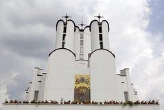 圣约翰施洗约翰教堂 免版税图库摄影