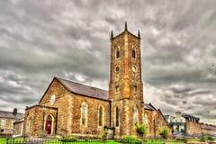 圣约翰施洗约翰教堂- Agherton教区,在Portstewart,不 免版税图库摄影