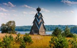 圣约翰木教会浸礼会教友在Shirkovo村庄  库存图片
