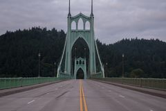 圣约翰桥梁 图库摄影