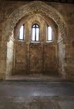 圣约翰的城堡,罗得岛。 免版税图库摄影