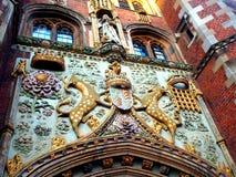 圣约翰的学院剑桥大学 图库摄影