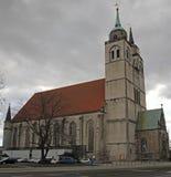 圣约翰的教会在城市马格德堡 库存照片