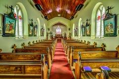 圣约翰的教会在里士满,塔斯马尼亚岛 库存图片