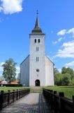 圣约翰的教会在维尔扬迪 免版税库存图片