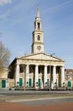 圣约翰的教会,滑铁卢,伦敦 库存图片