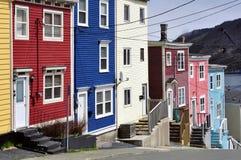 圣约翰的,纽芬兰。 免版税库存图片
