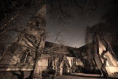 圣约翰福音传教士教会,在Lyne下的Ashton 库存照片