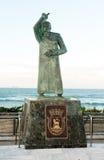 圣约翰,圣胡安,波多黎各雕象  库存照片